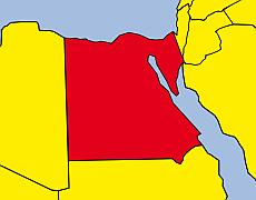 Karte Ägypten Internationale TV Produktionen von EichbergFilm