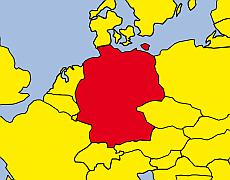 Karte Deutschland, Internationale TV Produktionen von EichbergFilm