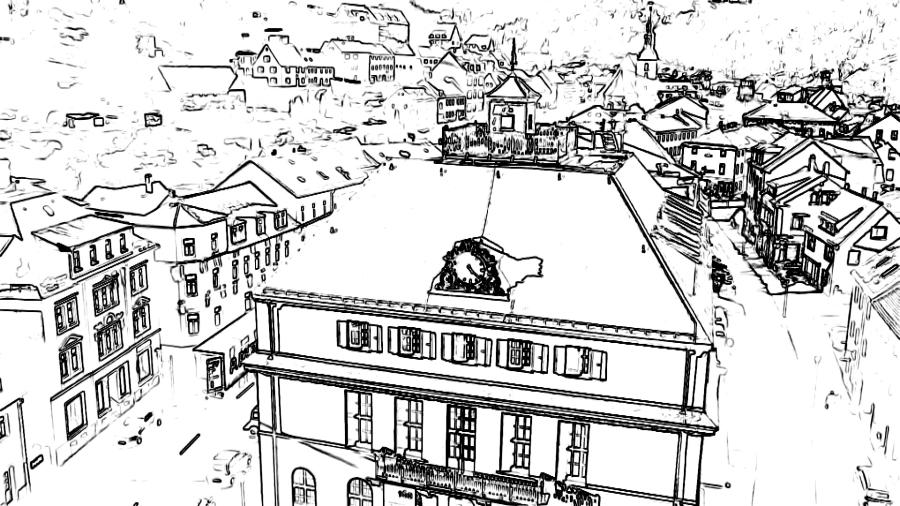 Bildbeispiel Bildeffekt Grafikeffekt Schwarz - Weiß